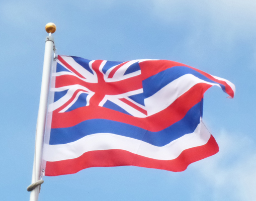 Kingdom of Hawaii Flag 1816-1845