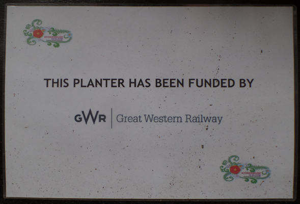 GWR Planter (High St - Town Hall)