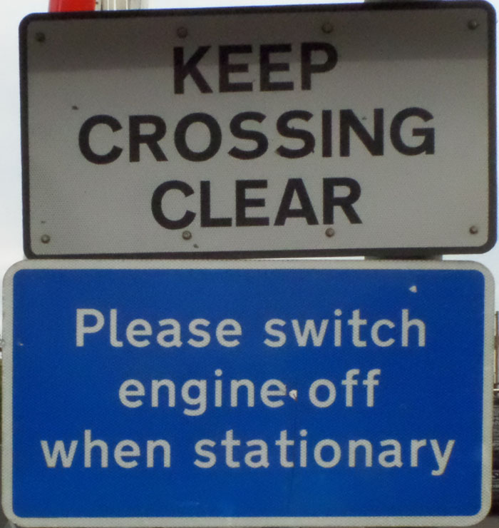 Please Switch Off (level crossing)