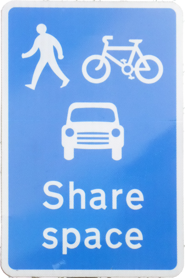Share Space (High St - for motorists to ignore!)