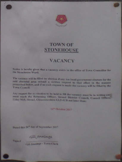 Town Vacancy